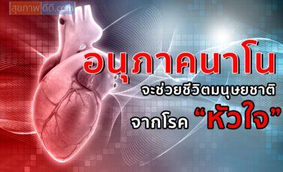อนุภาคนาโน จะช่วยเหลือมนุษยชาติ จากโรคหัวใจ