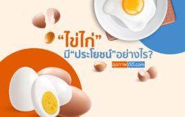 ไข่ไก่มีประโยชน์อย่างไร