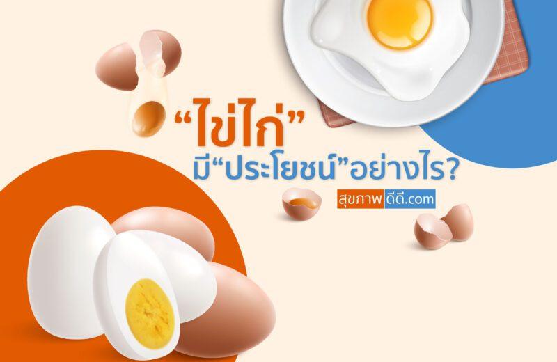 ประโยชน์ไข่ไก่